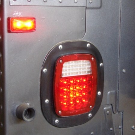 Used Hummers For Sale >> Hummer H1 LED Tail Lights